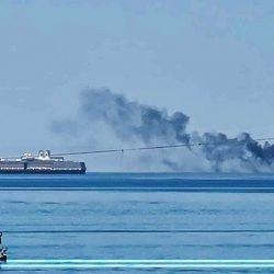 Barcos en La Paz Baja California Sur Abril 2021